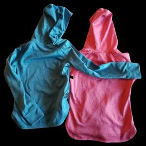 Girl's Hoodies Pink and Blue